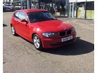 2008 08 BMW 1 SERIES 1.6 116I SE 3D 121 BHP **** GUARANTEED FINANCE **** PART EX WELCOME