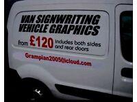 Signmaker vinyl fitter cars rooms rent baby