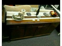 Large wooden sideboard #29784 £59
