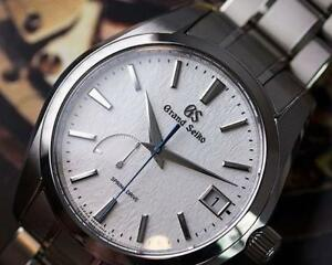 NEW Seiko Grand Seiko Spring Drive 9R Titanium Snowflake SBGA211 IN STOCK Authorized dealer