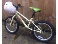 "Apollo Woodland Charm Kids Bike - 18"" Wheel with helmet"