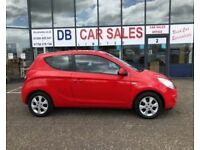 2010 59 HYUNDAI I20 1.2 EDITION 3D 77 BHP **** GUARANTEED FINANCE **** PART EX WELCOME