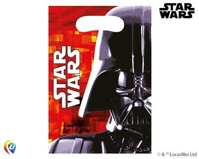 Star Wars Party Supplies Clearance (CLEARANCE  Star Wars Final Battle Plastic Party Loot Bags x)