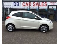 ONLY £30 ROAD TAX !!2010 10 FORD KA 1.2 ZETEC 3D 69 BHP **** GUARANTEED FINANCE **** PART EX WELCOME