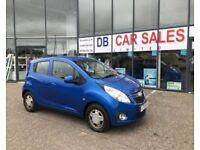 £30 ROAD TAX !! 2011 11 CHEVROLET SPARK 1.0 LS 5D 67 BHP **** GUARANTEED FINANCE **** PART EX WEL
