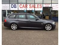 DIESEL !! 2006 55 BMW 3 SERIES 2.0 320D M SPORT 5D 161 BHP *** GUARANTEED FINANCE *** PART EX WEL