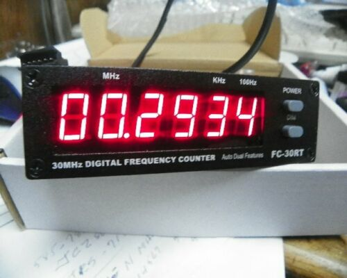 FREQUENCY COUNTER WITH RED LEDS FC-30RT 0.5MHZ TO 50MHZ  10 AND 11 METER