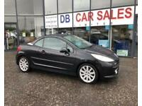 2007 57 PEUGEOT 207 1.6 GT COUPE CABRIOLET 2D 118 BHP***GUARANTEED FINANCE***PART EX WELCOME