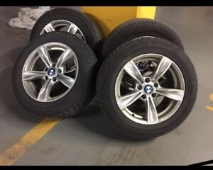 4 BMW Winter tires on rims