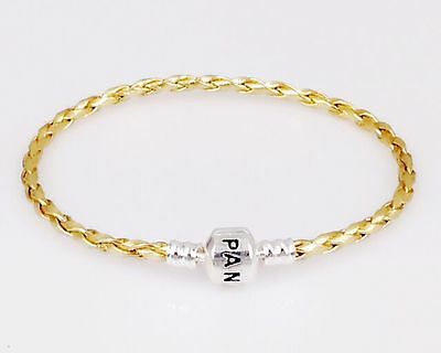 $0.99 - Fashion Leather Bracelets Chain Bangle Fit 925 European Charms Beads