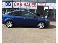 DIESEL !! 2009 09 FORD FOCUS 1.6 ZETEC TDCI 5D 107 BHP **** GUARANTEED FINANCE **** PART EX WELCOME