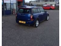 2008 58 MINI CLUBMAN 1.6 COOPER 5D 118 BHP***GUARANTEED FINANCE***PART EX WELCOME***