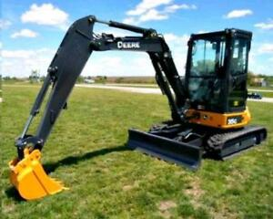 Mini Excavator & Backhoe Services - Call or Text *289-241-9281*