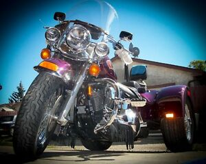 1997 Heritage Classic Softail Converted Trike/ leaman Trunk