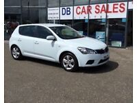 2011 11 KIA CEED 1.4 VR-7 5D 89 BHP **** GUARANTEED FINANCE **** PART EX WELCOME