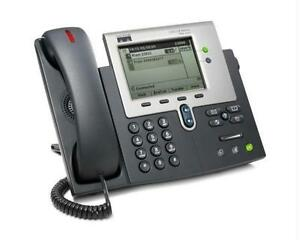 Cisco Unified IP Phone 7941G - VoIP - Monochrome LCD Display - CP-7941G - Used