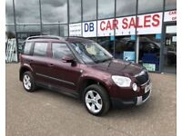 DIESEL !! 2011 61 SKODA YETI 1.6 S GREENLINE II TDI CR 5D 103 BHP * GUARANTEED FINANCE * PART EX WEL