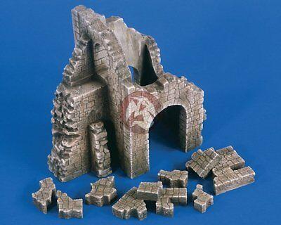 Verlinden 1/35 Ruined Castle Section Remains [Plaster Diorama Model kit] 1865
