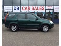 ONLY 64K MILES !!! 2003 53 HONDA CR-V 2.0 I-VTEC SE SPORT 148 BHP * GUARANTEED FINANCE * PART EX WEL