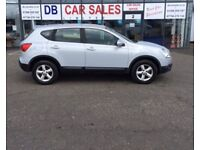 2007 07 NISSAN QASHQAI 1.6 ACENTA 5D 113 BHP **** GUARANTEED FINANCE **** PART EX WELCOME