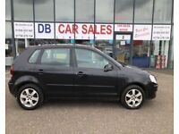 ONLY 36K MILES ! 2009 58 VOLKSWAGEN POLO 1.2 MATCH 5D 68 BHP ** GUARANTEED FINANCE ** PART EX WEL