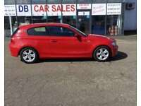 2008 08 BMW 1 SERIES 1.6 116I SE 3D 121 BHP **** GUARANTEED FINANCE **** PART EX WELCOME