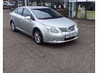 2010 60 TOYOTA AVENSIS 1.8 VALVEMATIC TR 4D 145 BHP **** GUARANTEED FINANCE **** PART EX WELCOME