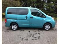 2013 13 NISSAN NV200 1.5 DCI ACENTA COMBI 7 SEATER 5DR NO VAT 89 BHP DIESEL