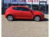 2009 09 ALFA ROMEO MITO 1.4 LUSSO 16V 3D 95 BHP **** GUARANTEED FINANCE **** PART EX WELCOME
