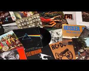 Disquaire achète disques vinyles 33/45 tours records LP's