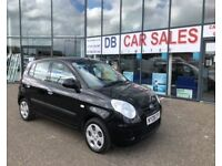 2008 08 KIA PICANTO 1.1 2 5D 65 BHP **** GUARANTEED FINANCE **** PART EX WELCOME