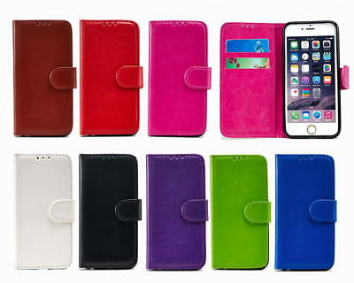 Flip Wallet Book PU Leather Cover Case for Apple iPhone 5 5S SE and card (Best Iphone 5 Card Case)