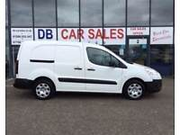DIESEL !!! CREWCAB !!! 2014 64 PEUGEOT PARTNER 1.6 HDI CRC 1D 90 BHP **** GUARANTEED FINANCE ****