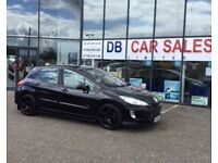 ONLY 42k MILES !!! 2008 08 PEUGEOT 308 1.6 GT 5D 172 BHP **** GUARANTEED FINANCE **** PART EX WEL