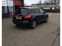 DIESEL 7 SEATER !!! 2009 09 NISSAN QASHQAI+2 2.0 N-TEC PLUS 2 DCI 5D 148 BHP ** GUARANTEED FINANCE *