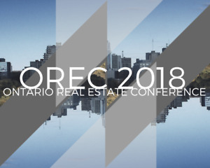 Ontario Real Estate Conference 2018 - London Convention Centre