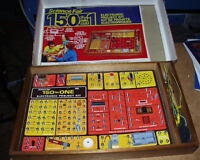 Kids educational electrical set for learning about circuits etc.