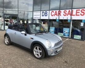 2004 54 MINI CONVERTIBLE 1.6 COOPER 2D 114 BHP **** GUARANTEED FINANCE **** PART EX WELCOME