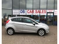 AUTOMATIC !! 2010 10 FORD FIESTA 1.4 ZETEC 16V 5D AUTO 96 BHP **** GUARANTEED FINANCE **** PART EX