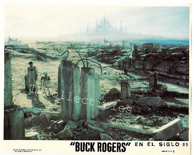 8x10 Lobby Card BUCK ROGERS w Mexico title Gil Gerard & robot