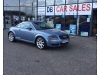 2003 02 AUDI TT 1.8 QUATTRO 3D 177 BHP **** GUARANTEED FINANCE **** PART EX WELCOME
