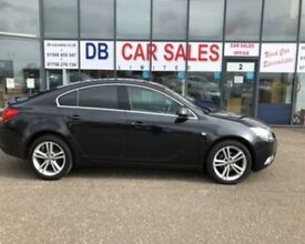DIESEL !!! 2012 12 VAUXHALL INSIGNIA 2.0 EXCLUSIV CDTI 5D 157 BHP * GUARANTEED FINANCE * PART EX WEL