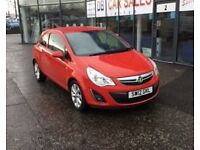 2012 12 VAUXHALL CORSA 1.2 ACTIVE AC 3D 83 BHP **** GUARANTEED FINANCE **** PART EX WELCOME