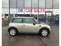 2007 07 MINI HATCH ONE 1.4 ONE 3D 94 BHP **** GUARANTEED FINANCE **** PART EX WELCOME