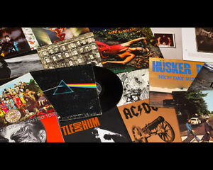 Cash for vinyl records -- both LP's and 45's