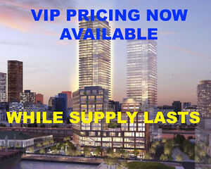 Daniel's Waterfront VIP Pricing and Floorplans