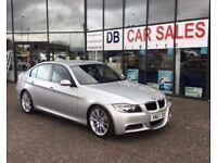 DIESEL AUTO !!! 2007 07 BMW 3 SERIES 3.0 325D M SPORT 4D AUTO 195 BHP *** GUARANTEED FINANCE