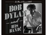 2x Bob Dylan seated tickets, Echo Arena Liverpool, Monday 8th May 2017