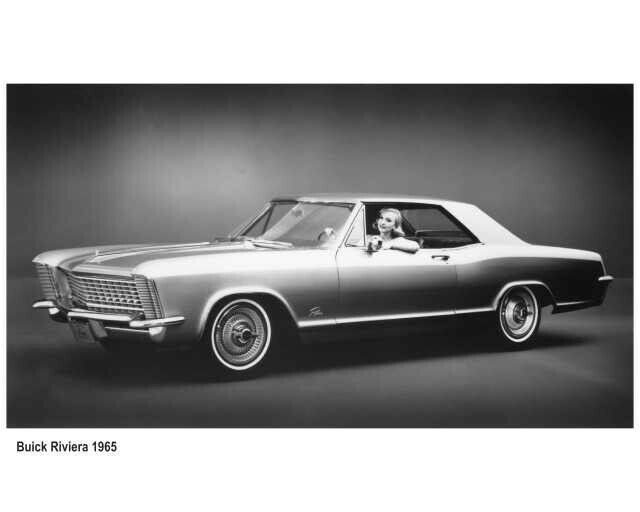 1965 Buick Riviera Press Photo 0090