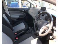 2013 63 SEAT IBIZA 1.4 TOCA 5D 85 BHP***GUARANTEED FINANCE***PART EX WELCOME